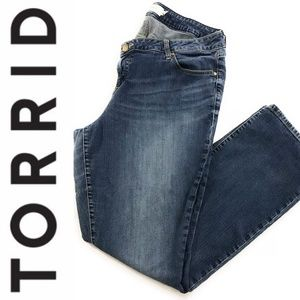 Torrid Barley Boot Denim Jeans, Plus Size 18